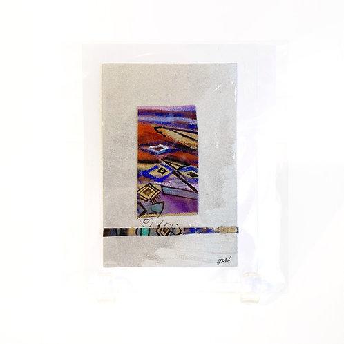 """Original Art Card - Shore Life, 4"""" x 6"""""""