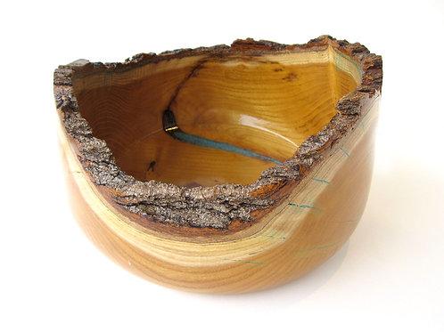 """Osage Orange Wood Bowl, 6"""" x 10 1/2"""""""