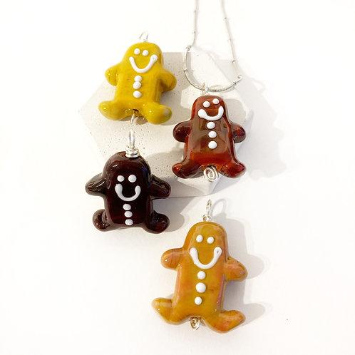 Seasonal Pendant - Gingerbread