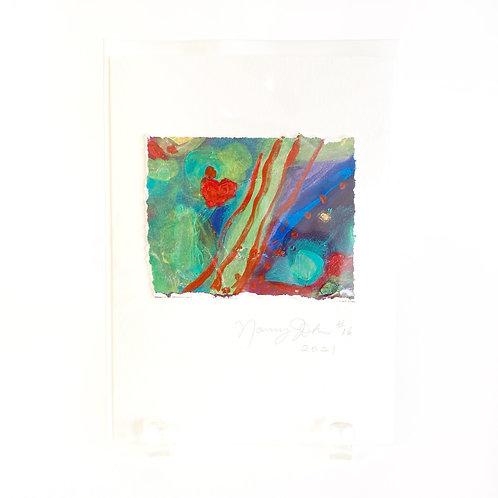 "Original Art Card #16 - 2021, 5"" x 7"""