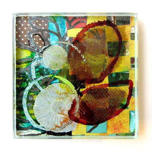 """Art Tile #217, 4"""" x 4"""""""
