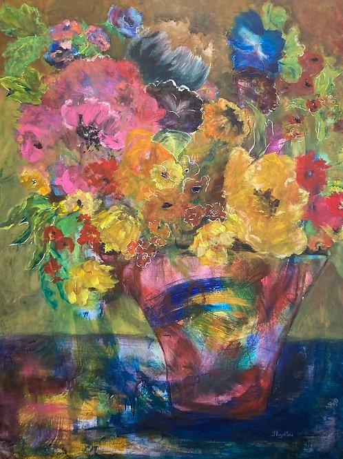 """Prism, by Floydilou Kerr, 36"""" x 48"""""""