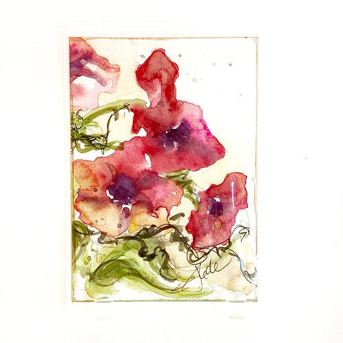 "Original Art Card #37, 5"" x 7"""