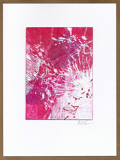 "Original Art Card #28, 5"" x 7"""