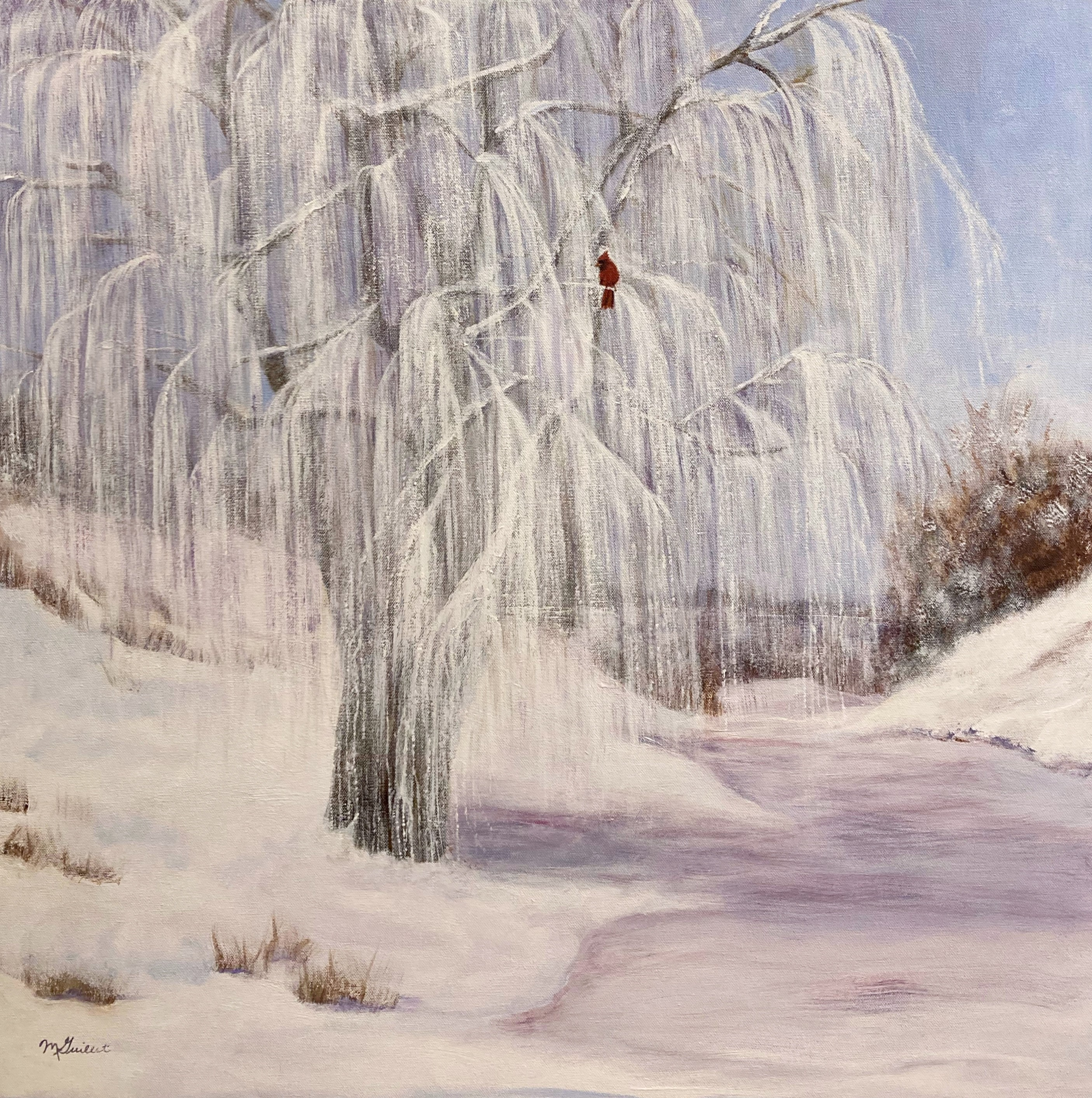 Willow In Winter, Margaret Guillet