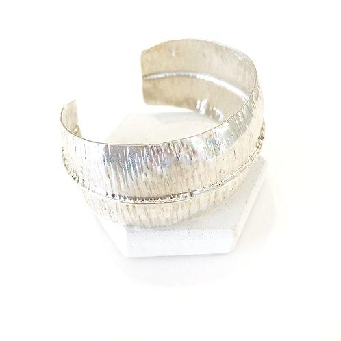 Bracelet - Silver Cuff