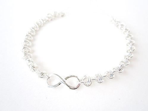 Bracelet - Silver Infinity