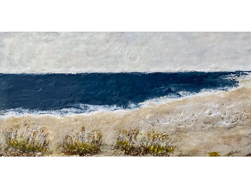 """Out To Sea, 12"""" x 24"""""""