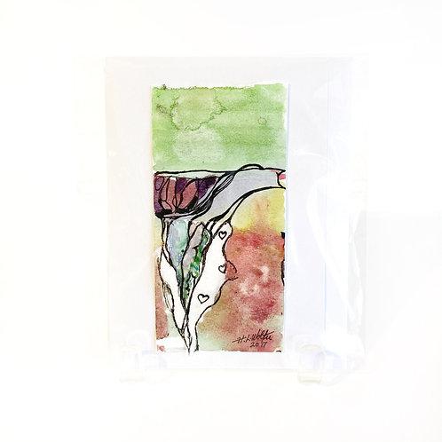 "Original Art Card - Heartland, 4"" x 6"""