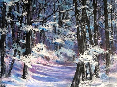 """Winter Wonderland, 18"""" x 24"""""""