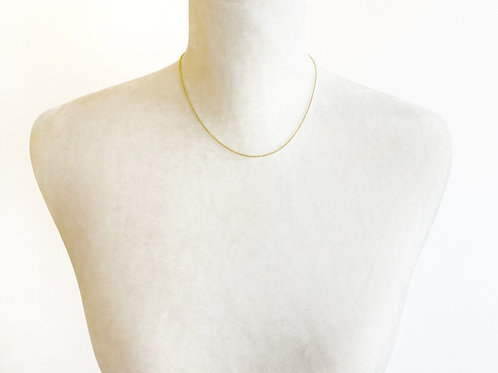 "16"" Yellow Gold Necklace"