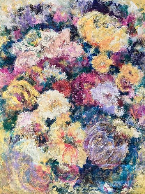 """Wallflowers 1, 61"""" x 96"""""""