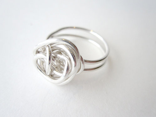 Ring - Silver Nest Collection