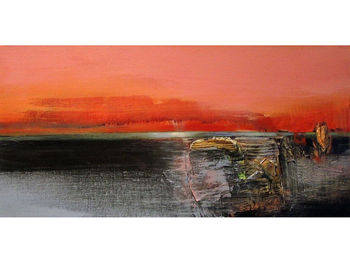 """River Recollections 1, 10"""" x 20"""""""
