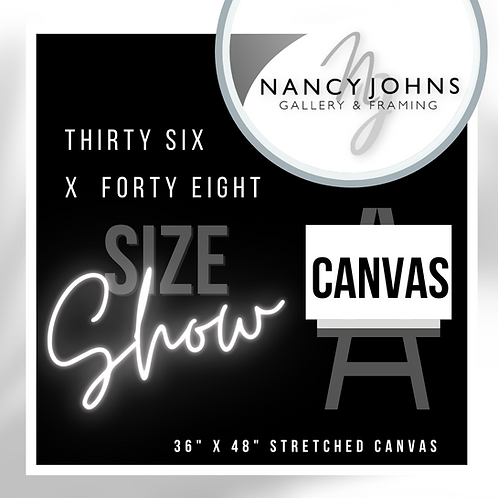 THIRTY SIX x FORTY EIGHT CANVAS PRE-ORDER