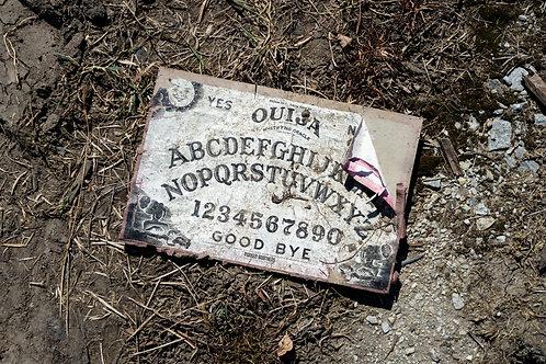 """Ouija, 13"""" x 13"""""""