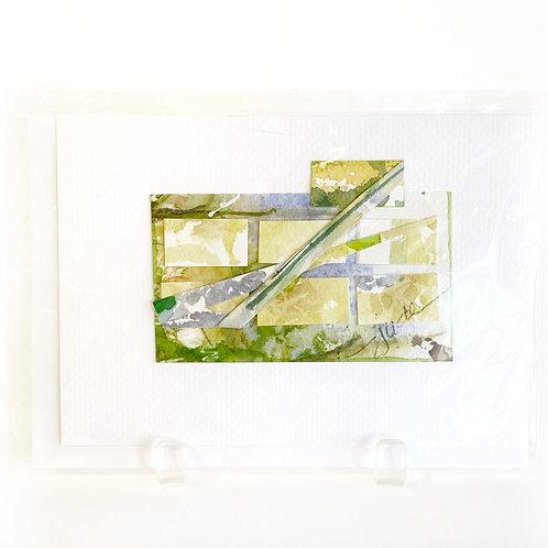 "Original Art Card #34, 5"" x 7"""