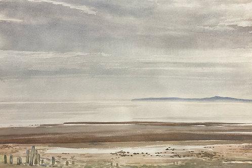 """Sand River Beach, NS, 14"""" x 20"""""""