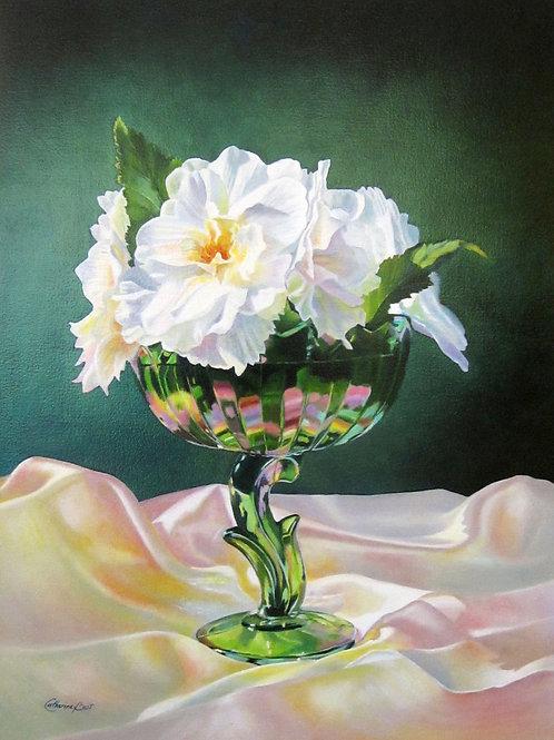 "The Green Vase, 19"" x 25"""