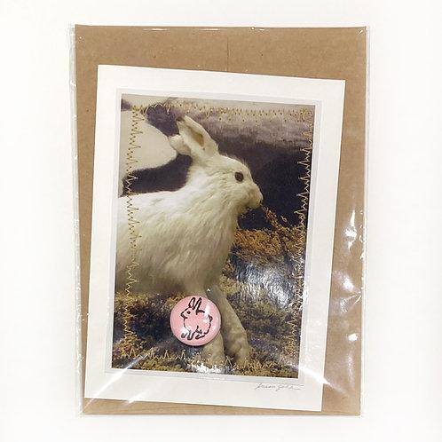 "Original Art Card - Pandemic Spring 5, 4"" x 6"""