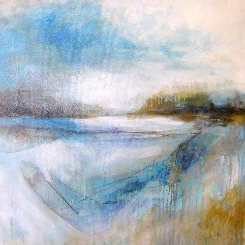 """Landscape #2, 30"""" x 30"""""""