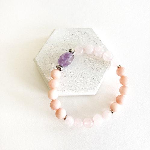 Bracelet - Pink & Purple