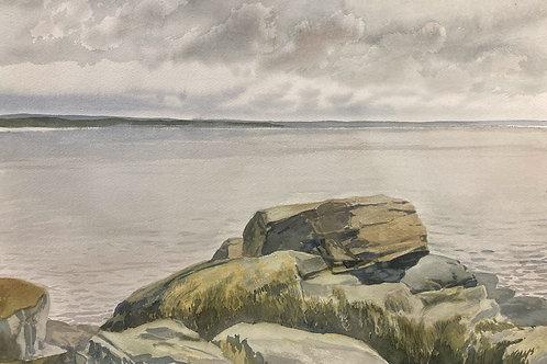 """Slack Cove, NB, 14"""" x 20"""""""