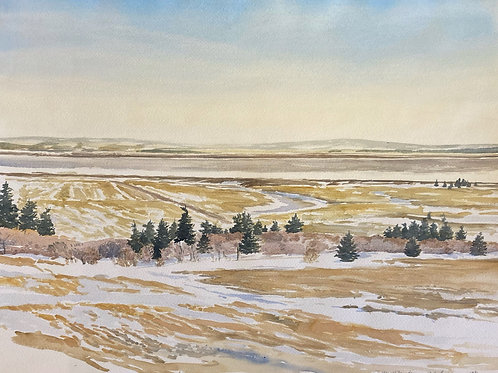 """View Of Fundy, 22"""" x 30"""""""
