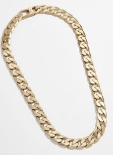Lg. Michel Curb Chain Necklace