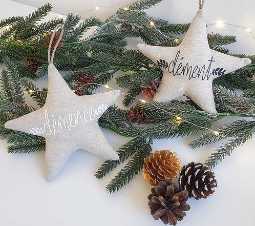 Etoile de Noël -(Pré commande)