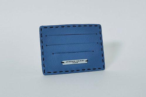 Porte-cartes Agneau Bleu Lagon