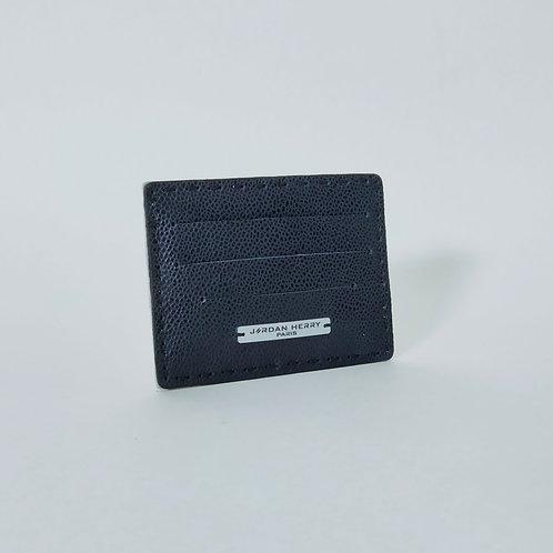 Porte-cartes Caviar Bleu