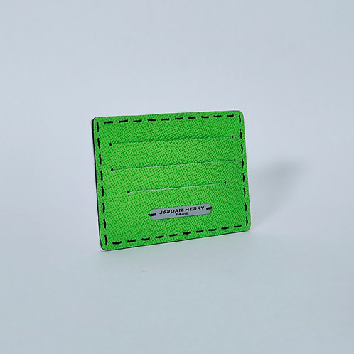 Porte-cartes Vert Anis