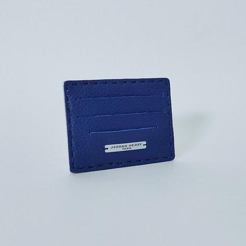 Porte-cartes Bleu Nathalie
