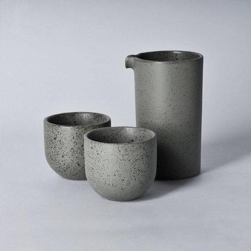 Loveramics BREWERS Specialty Jug with 2pcs Sweet Tasting Cup Set - Granite
