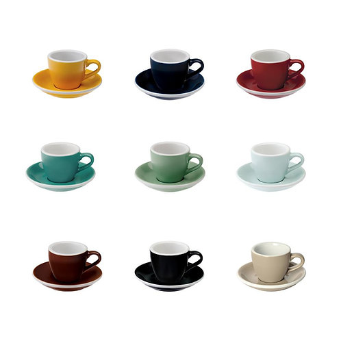 Loveramics EGG 80ML Espresso CUP & SAUCER
