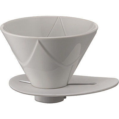 Hario MUGEN Single Extraction One Pour Dripper - Ceramic White