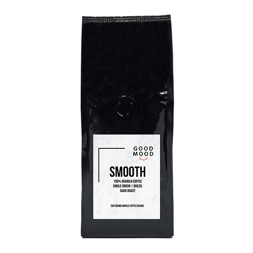 Good Mood SMOOTH - 100% Arabica | Whole Coffee Beans | 250 grams | Dark Roast