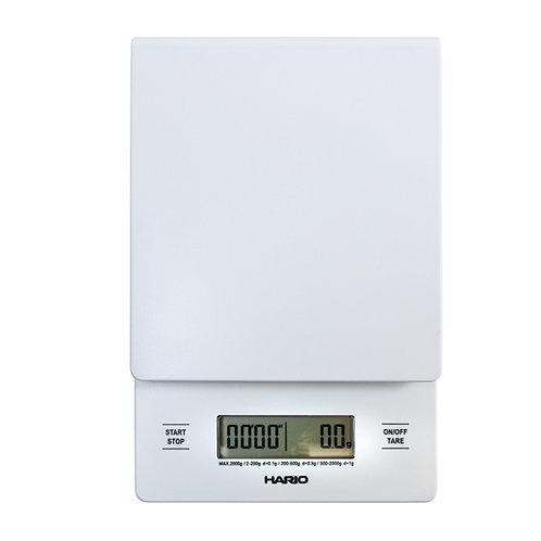Hario Digital Drip Scale & Timer - WHITE