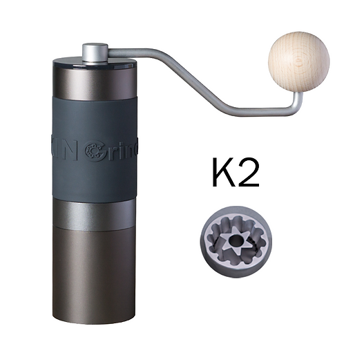 Kingrinder Heavy Duty Precision Manual Hand Grinder - K2 aluminum cup upgraded