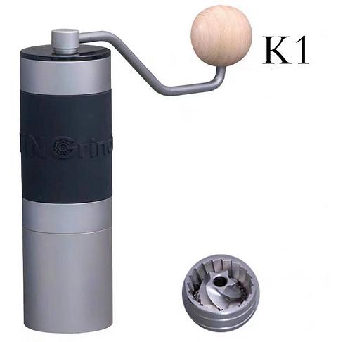 Kingrinder Heavy Duty Precision Manual Hand Grinder - K1 aluminum cup upgraded