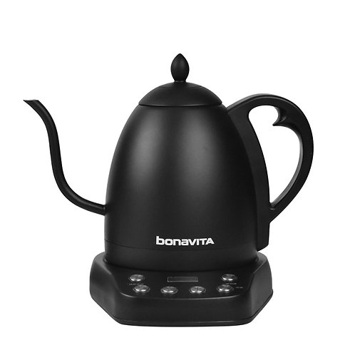 Bonavita INTERURBAN Variable Temperature Gooseneck Kettle 1.0L - Matte Black