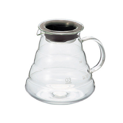 Hario V60 Clear Glass Range Server - Size 03 800mL