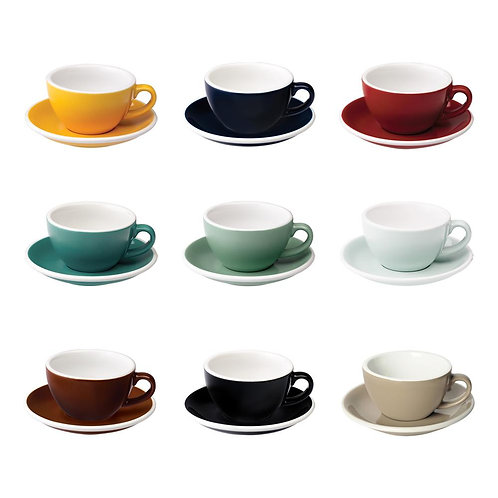 Loveramics EGG 200ML CAFE LATTE ART CUP & SAUCER