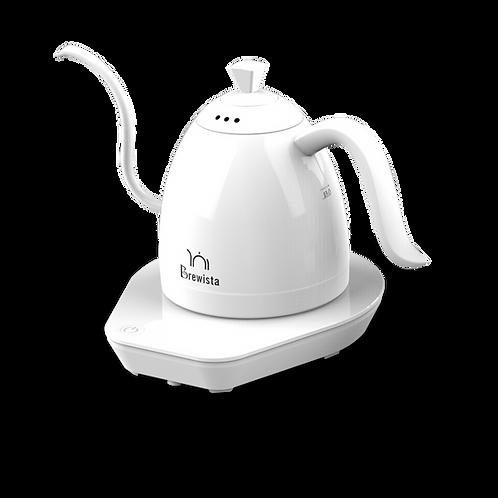 Brewista Artisan Variable Temperature Gooseneck Kettle 600mL - Pure White