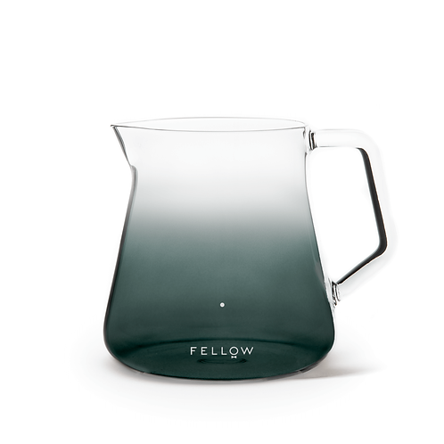 Fellow Mighty Small Glass Carafe Coffee Server 500mL - Smoked Glass