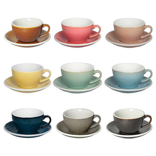 Loveramics EGG 250ML CAFE LATTE ART CUP & SAUCER (POTTERS EDITION)