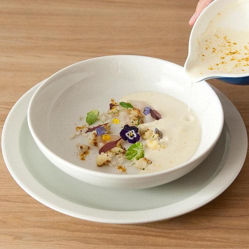 Loveramics ER-GO! 2 piece Dinner & Soup Plate Set (TAUPE)