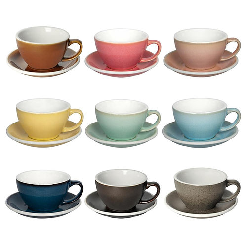Loveramics EGG 300ML CAFE LATTE ART CUP & SAUCER (POTTERS EDITION)