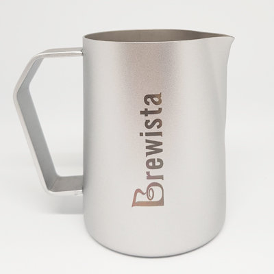 Brewista Precision Latte Art Frothing Pitcher 480mL - Silver